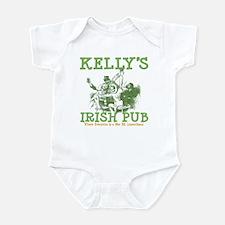 Kelly's Irish Pub Personalized Infant Bodysuit