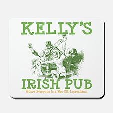 Kelly's Irish Pub Personalized Mousepad