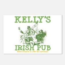 Kelly's Irish Pub Personalized Postcards (Package
