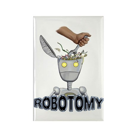 ROBOTOMY Rectangle Magnet (100 pack)
