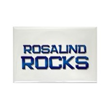 rosalind rocks Rectangle Magnet