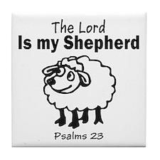 23 Psalm Tile Coaster