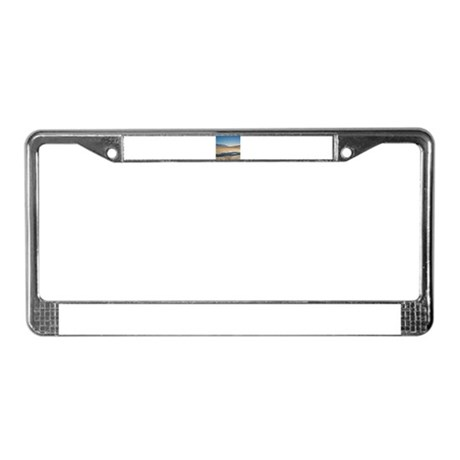 Death Valley License Plate Frame