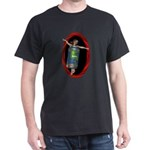 Beer Can Girl Dark T-Shirt