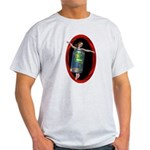 Beer Can Girl Light T-Shirt