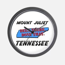 mount juliet tennessee - been there, done that Wal
