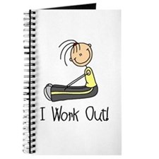 Female I Work Out Journal