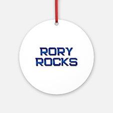 rory rocks Ornament (Round)