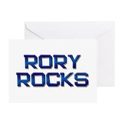 rory rocks Greeting Card
