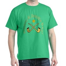 St. Patrick's Day Pipes T-Shirt