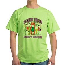 Mardi Gras Party Guard T-Shirt