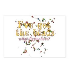 I've got the beads Postcards (Package of 8)