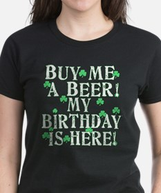 Buy Me a Beer Irish Birthday Tee
