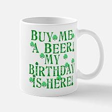 Buy Me a Beer Irish Birthday Mug