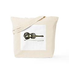 Zoe Black Violin Tote Bag