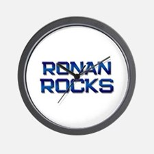 ronan rocks Wall Clock