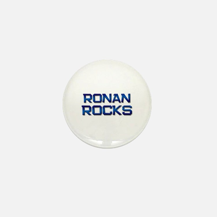 ronan rocks Mini Button