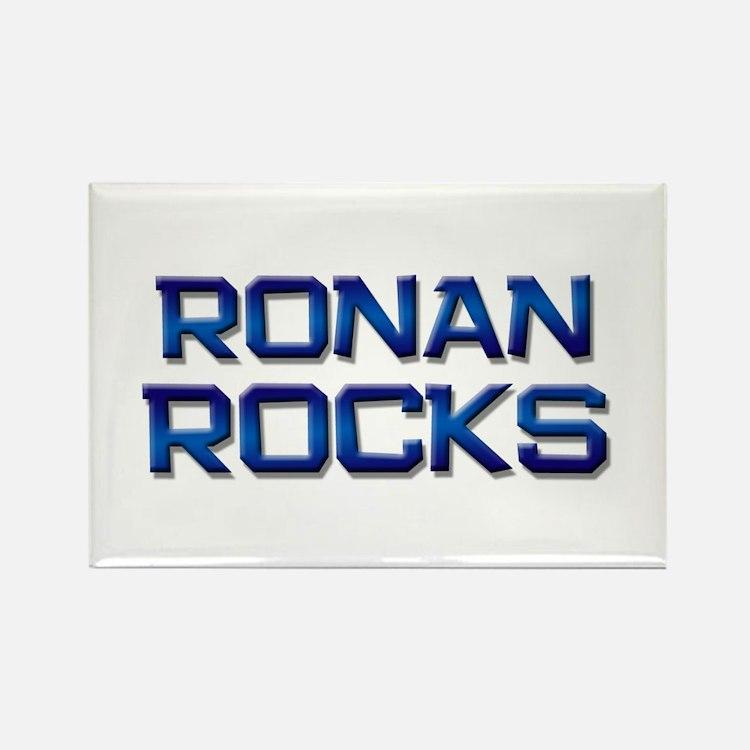 ronan rocks Rectangle Magnet