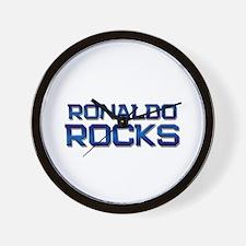 ronaldo rocks Wall Clock