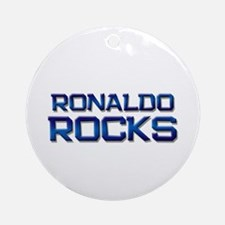 ronaldo rocks Ornament (Round)