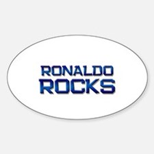ronaldo rocks Oval Decal