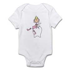 Tooth Fairy on Tooth Infant Bodysuit