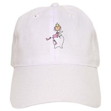 Tooth Fairy on Tooth Baseball Cap