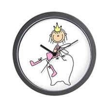 Tooth Fairy on Tooth Wall Clock
