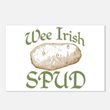 Wee Irish Spud Postcards (Package of 8)