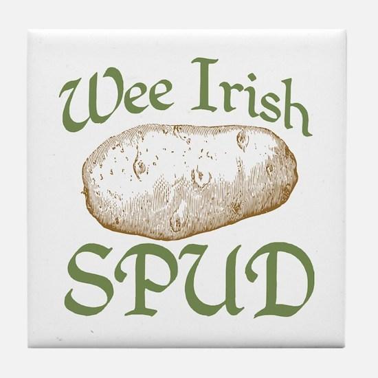 Wee Irish Spud Tile Coaster