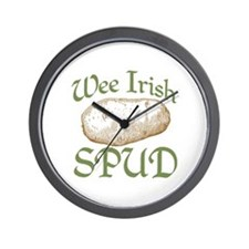 Wee Irish Spud Wall Clock