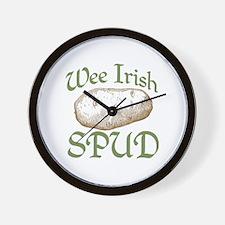 Wee Irish Spud Wall Clock