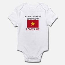 My Vietnamese Girlfriend Loves Me Infant Bodysuit