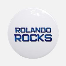 rolando rocks Ornament (Round)