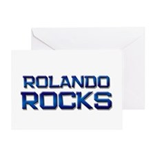 rolando rocks Greeting Card