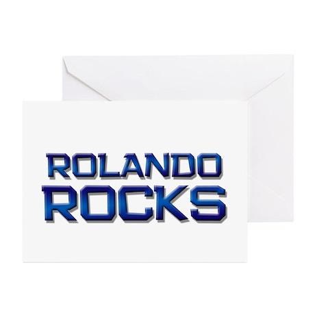 rolando rocks Greeting Cards (Pk of 20)