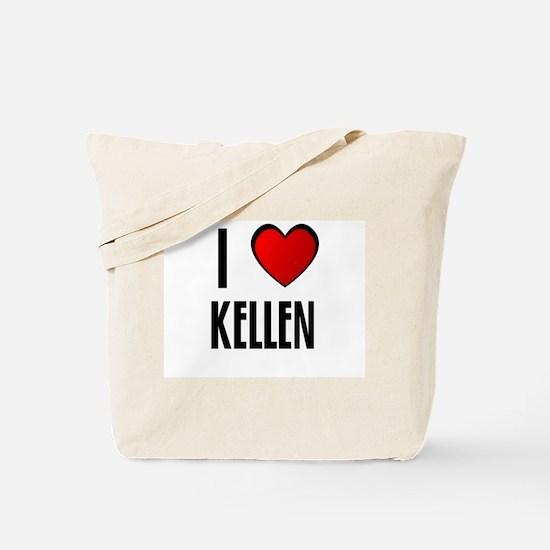I LOVE KELLEN Tote Bag