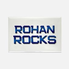 rohan rocks Rectangle Magnet