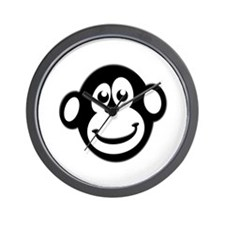 Monkey Monkey Wall Clock