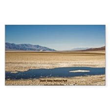 Death Valley Rectangle Decal
