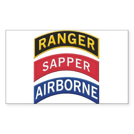 Ranger/Sapper/Airborne Sticker