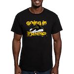 Going In Deep Men's Fitted T-Shirt (dark)