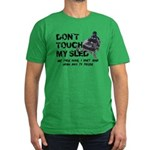 Snowmobile Threat Men's Fitted T-Shirt (dark)