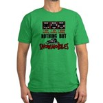 Nothing but Snowmobiles Men's Fitted T-Shirt (dark