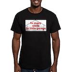 So Many Sleds Men's Fitted T-Shirt (dark)