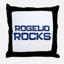 rogelio rocks Throw Pillow