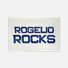 rogelio rocks Rectangle Magnet