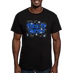 Wishin' For Snow Men's Fitted T-Shirt (dark)