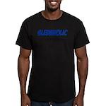 Sledaholic Men's Fitted T-Shirt (dark)