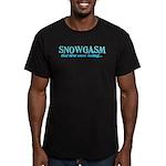 Snowgasm Men's Fitted T-Shirt (dark)